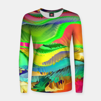 Thumbnail image of The Landscape of Heaven (LH096) Women sweater, Live Heroes