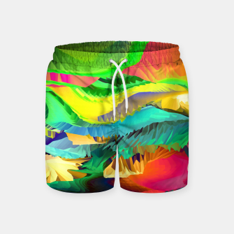 Thumbnail image of The Landscape of Heaven (LH096) Swim Shorts, Live Heroes