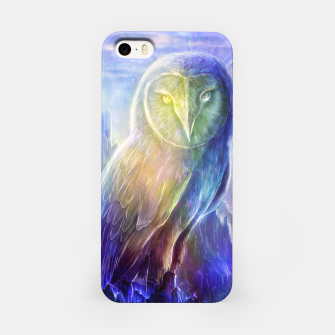 Thumbnail image of Crystalline owl iPhone Case, Live Heroes
