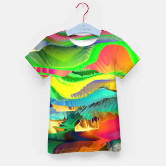 Thumbnail image of The Landscape of Heaven (LH096) Kid's t-shirt, Live Heroes