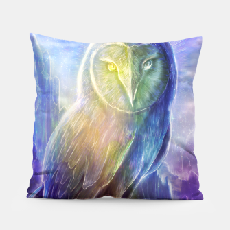 Thumbnail image of Crystalline owl Pillow, Live Heroes
