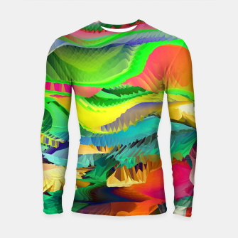 Thumbnail image of The Landscape of Heaven (LH096) Longsleeve rashguard , Live Heroes
