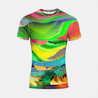 Thumbnail image of The Landscape of Heaven (LH096) Shortsleeve rashguard, Live Heroes