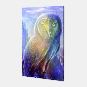 Thumbnail image of Crystalline owl Canvas, Live Heroes