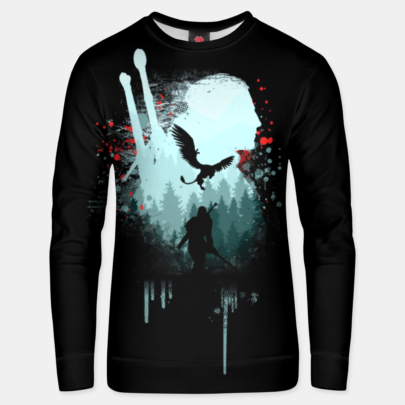 Image of The Witcher Unisex sweater - Live Heroes