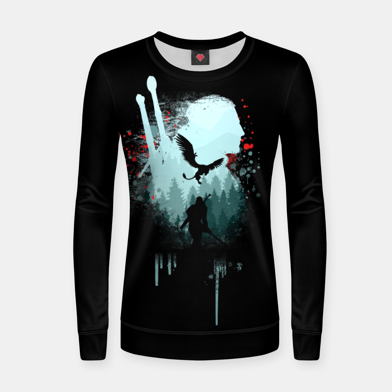 Image of The Witcher Women sweater - Live Heroes