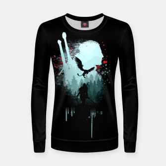 Thumbnail image of The Witcher Women sweater, Live Heroes