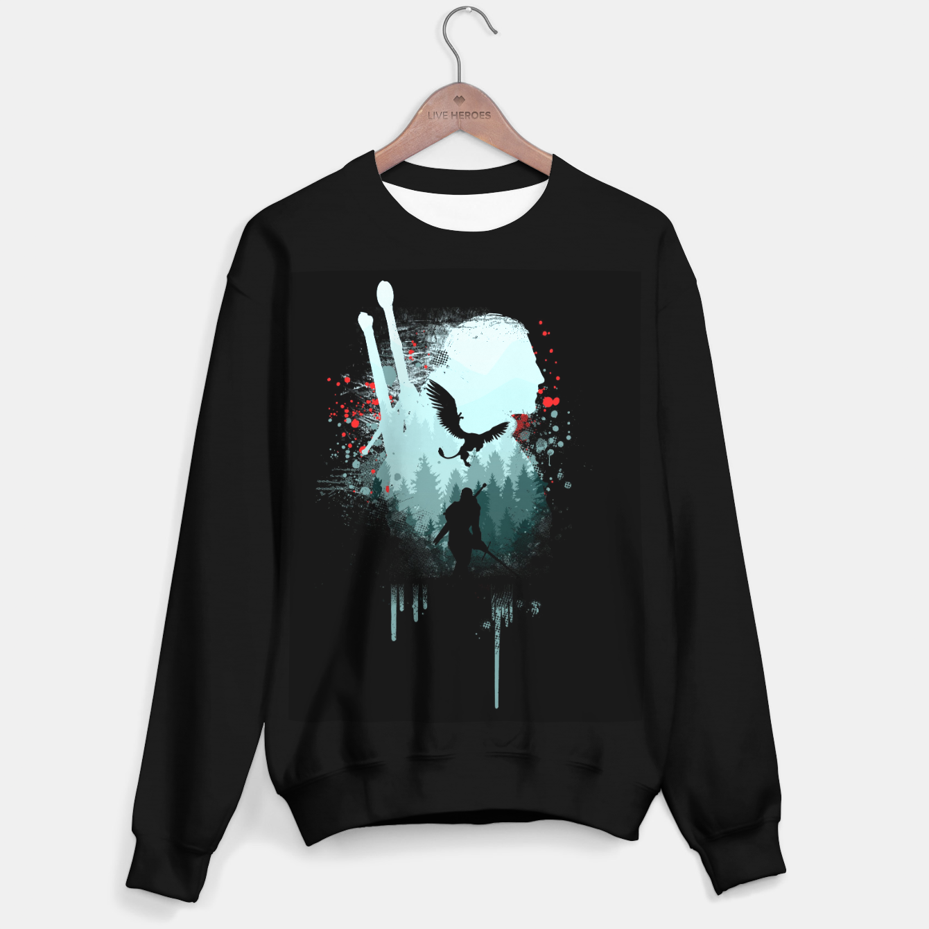 Image of The Witcher Sweater regular - Live Heroes