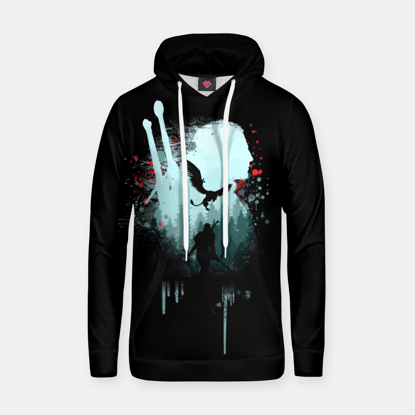 Image of The Witcher Hoodie - Live Heroes