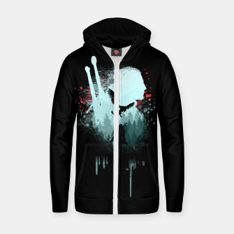 Thumbnail image of The Witcher Zip up hoodie, Live Heroes