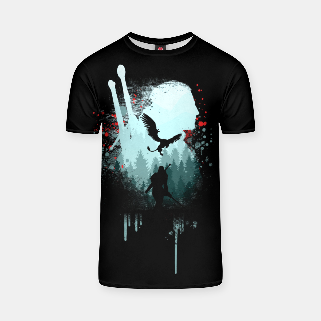 Image of The Witcher T-shirt - Live Heroes