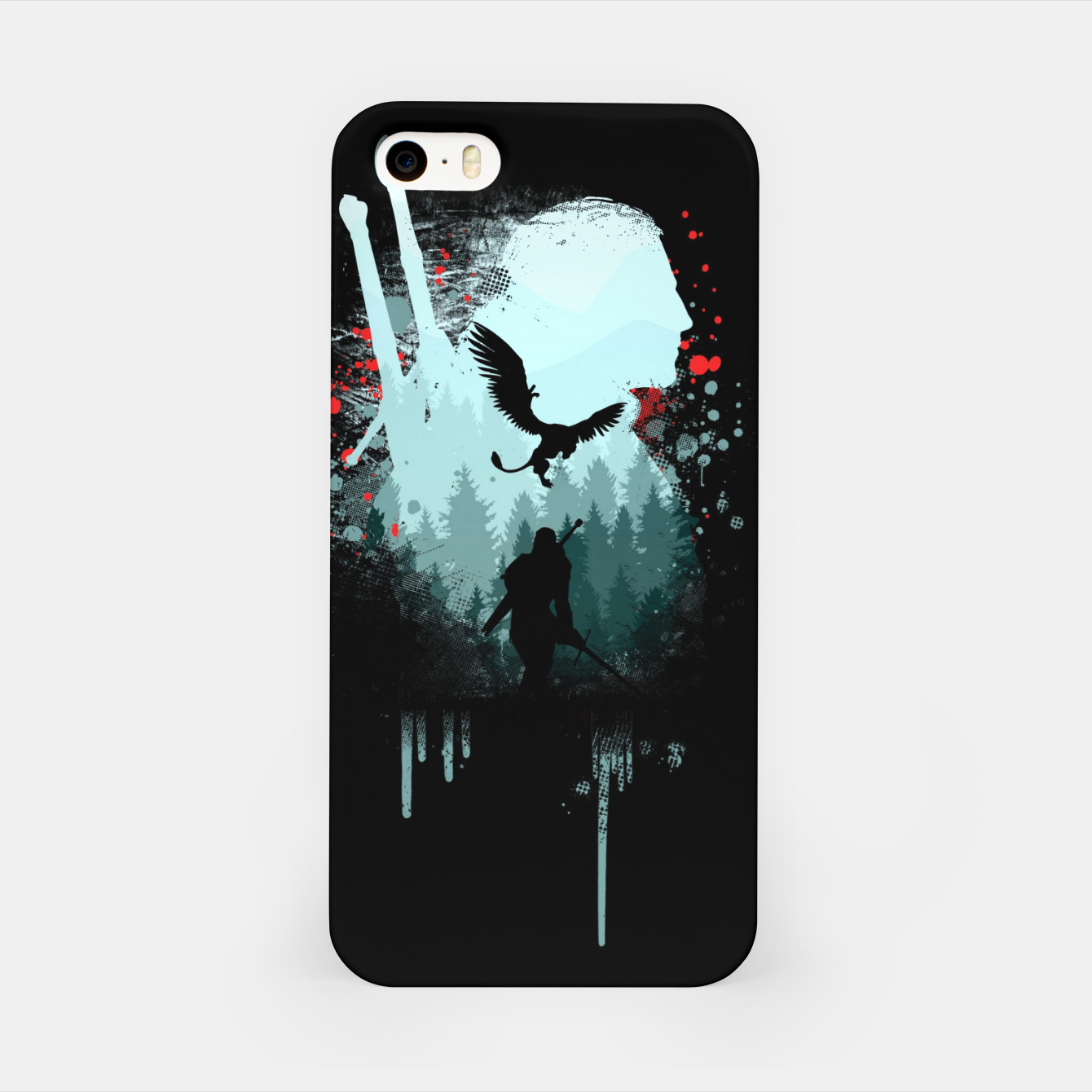 Image of The Witcher iPhone Case - Live Heroes