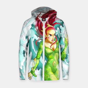 Queen of the sea Zip up hoodie obraz miniatury
