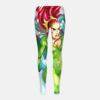 Miniaturka Queen of the sea Girl's leggings, Live Heroes