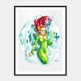Queen of the sea Framed poster obraz miniatury
