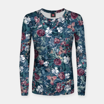 Blue Garden Women sweater Bild der Miniatur