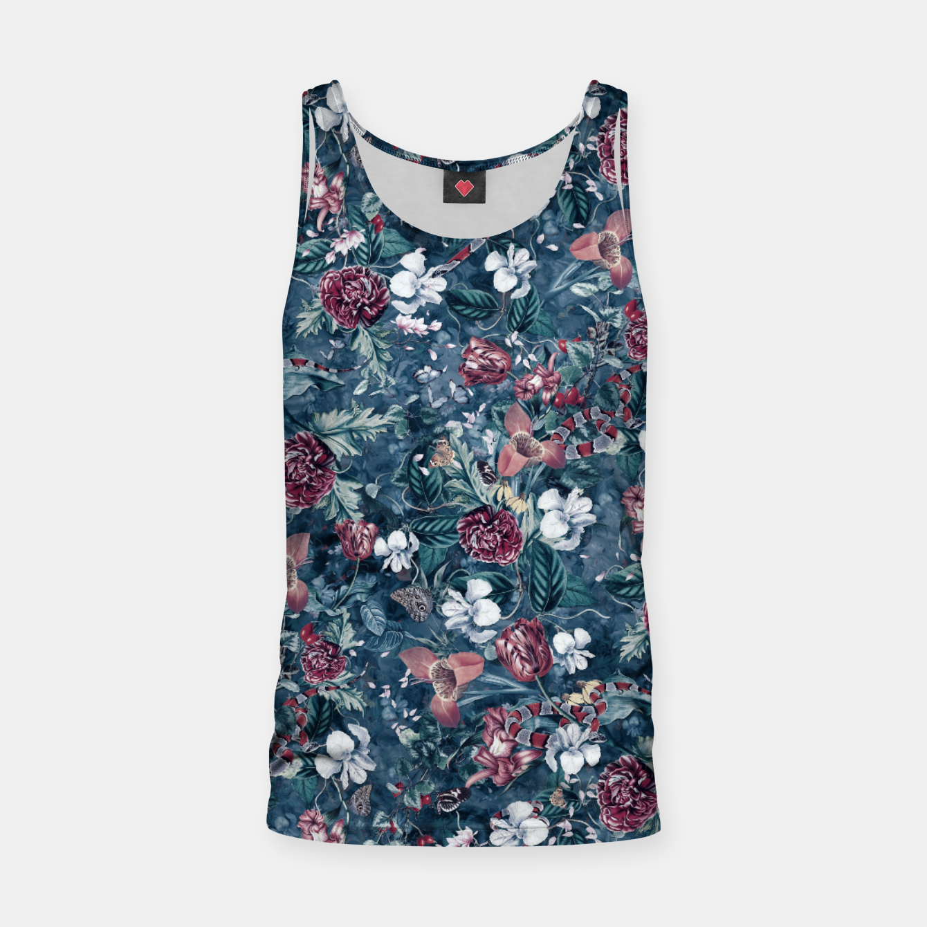 Image of Blue Garden Tank Top - Live Heroes