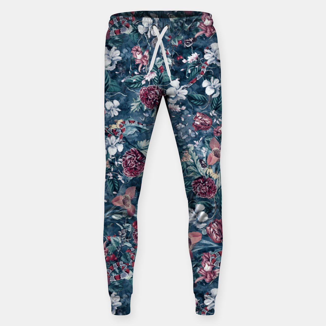 Image of Blue Garden Sweatpants - Live Heroes