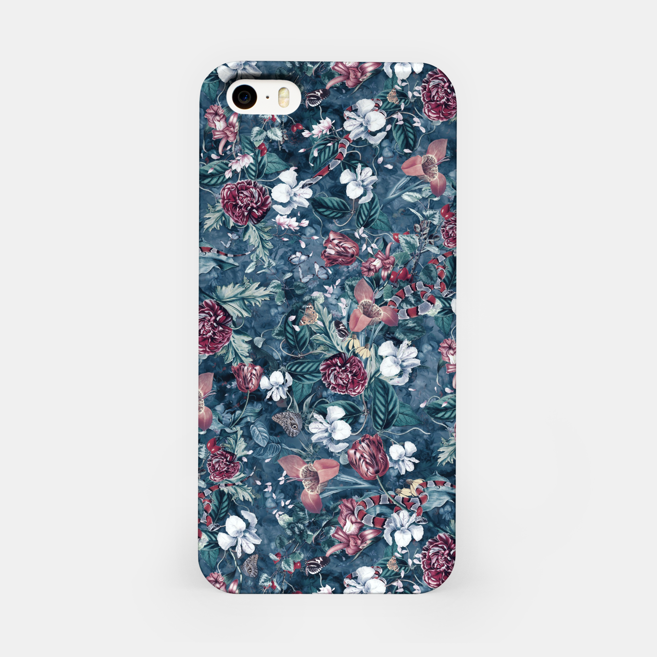 Image of Blue Garden iPhone Case - Live Heroes