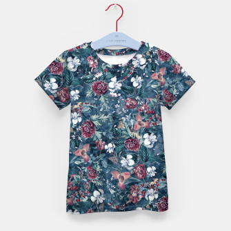 Thumbnail image of Blue Garden Kid's t-shirt, Live Heroes