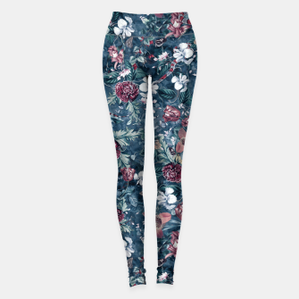 Thumbnail image of Blue Garden Leggings, Live Heroes