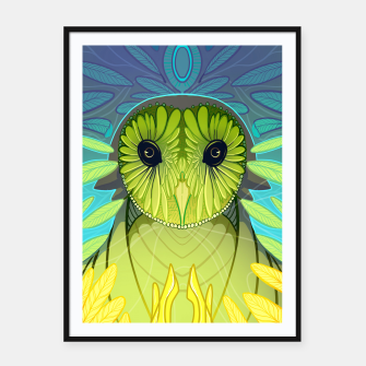 Thumbnail image of The Owl Framed poster, Live Heroes