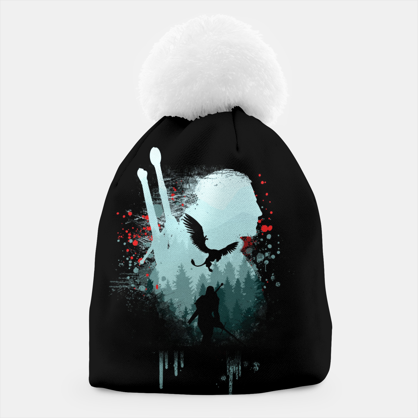 Image of The Witcher Beanie - Live Heroes