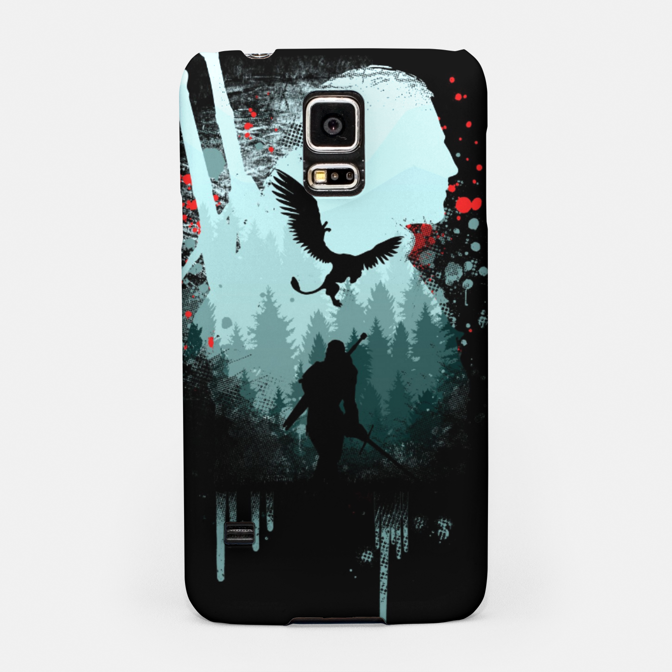 Image of The Witcher Samsung Case - Live Heroes