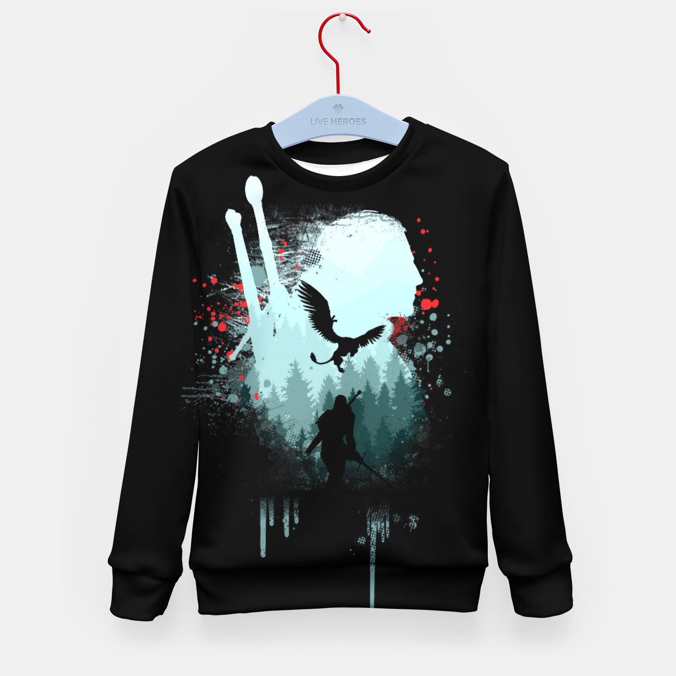 Image of The Witcher Kid's sweater - Live Heroes