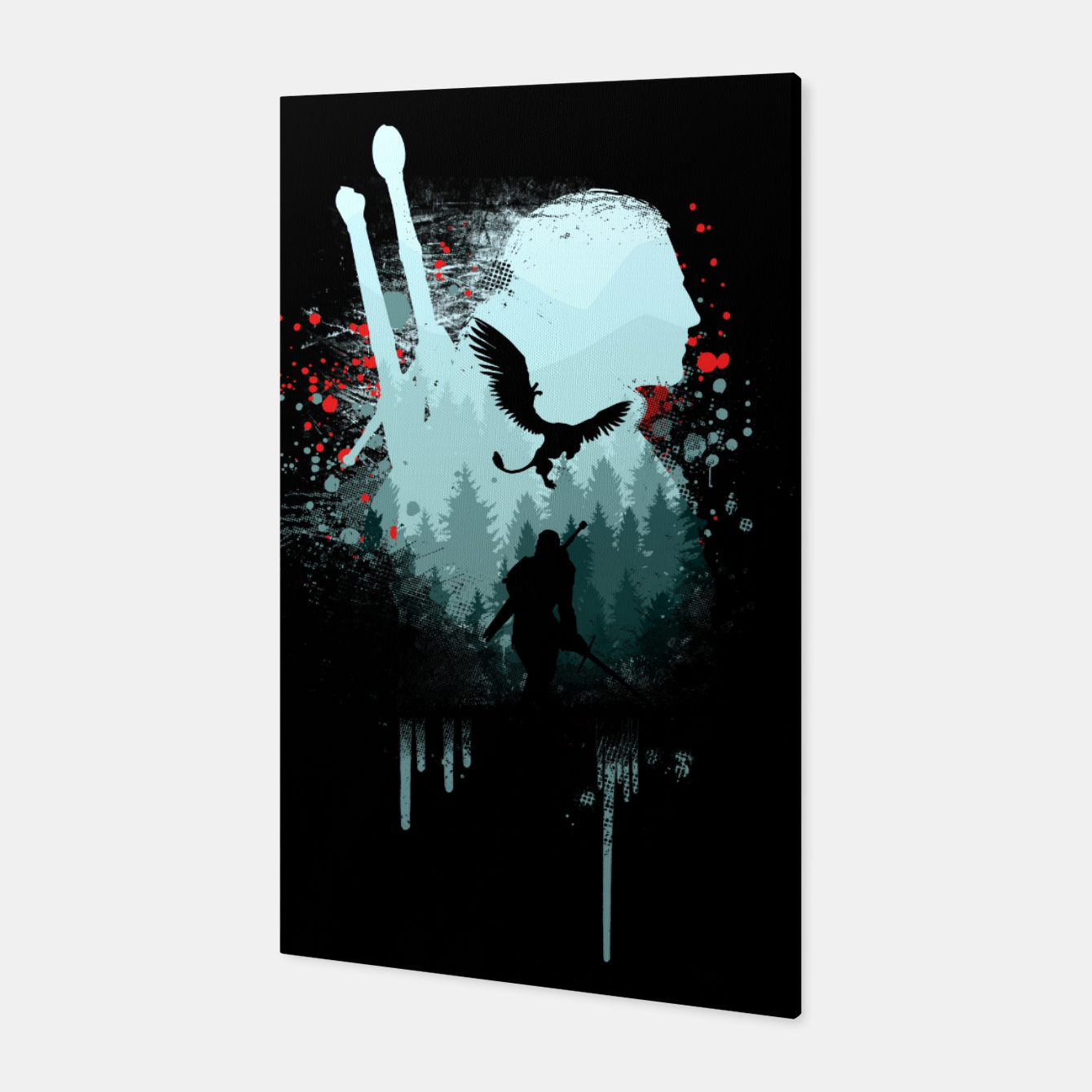 Image of The Witcher Canvas - Live Heroes