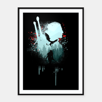 Thumbnail image of The Witcher Framed poster, Live Heroes