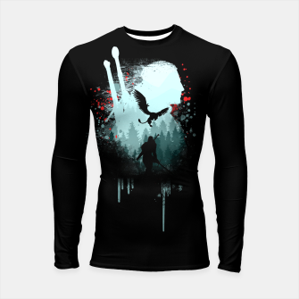 Thumbnail image of The Witcher Longsleeve rashguard , Live Heroes