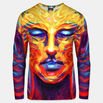 Thumbnail image of Celebrate your mind Unisex sweater, Live Heroes
