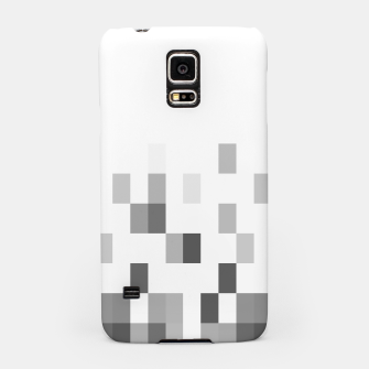 Thumbnail image of Grey scale pixels Samsung Case, Live Heroes