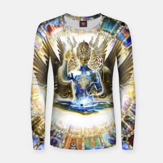Miniaturka Visions of ascension Women sweater, Live Heroes