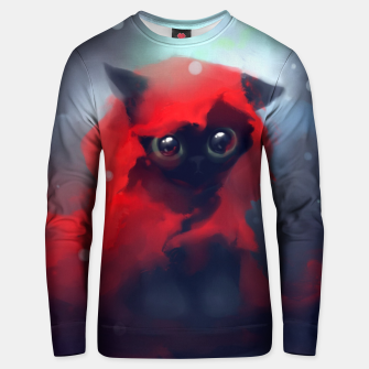 Thumbnail image of Red riding Cat Unisex sweater, Live Heroes
