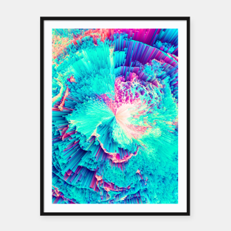 Thumbnail image of Perceptive Absence Framed poster, Live Heroes