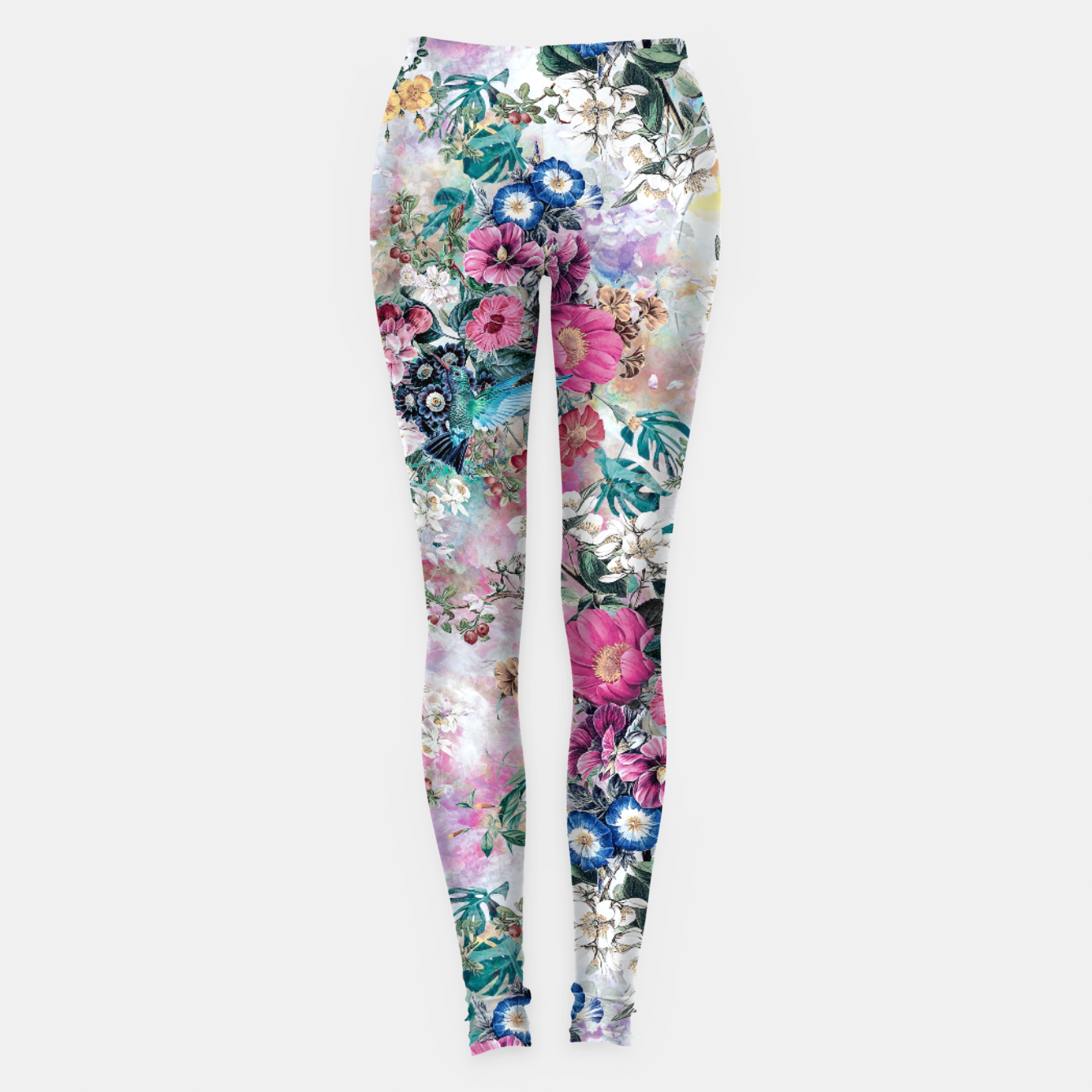 Image of Birds in Flowers Leggings - Live Heroes