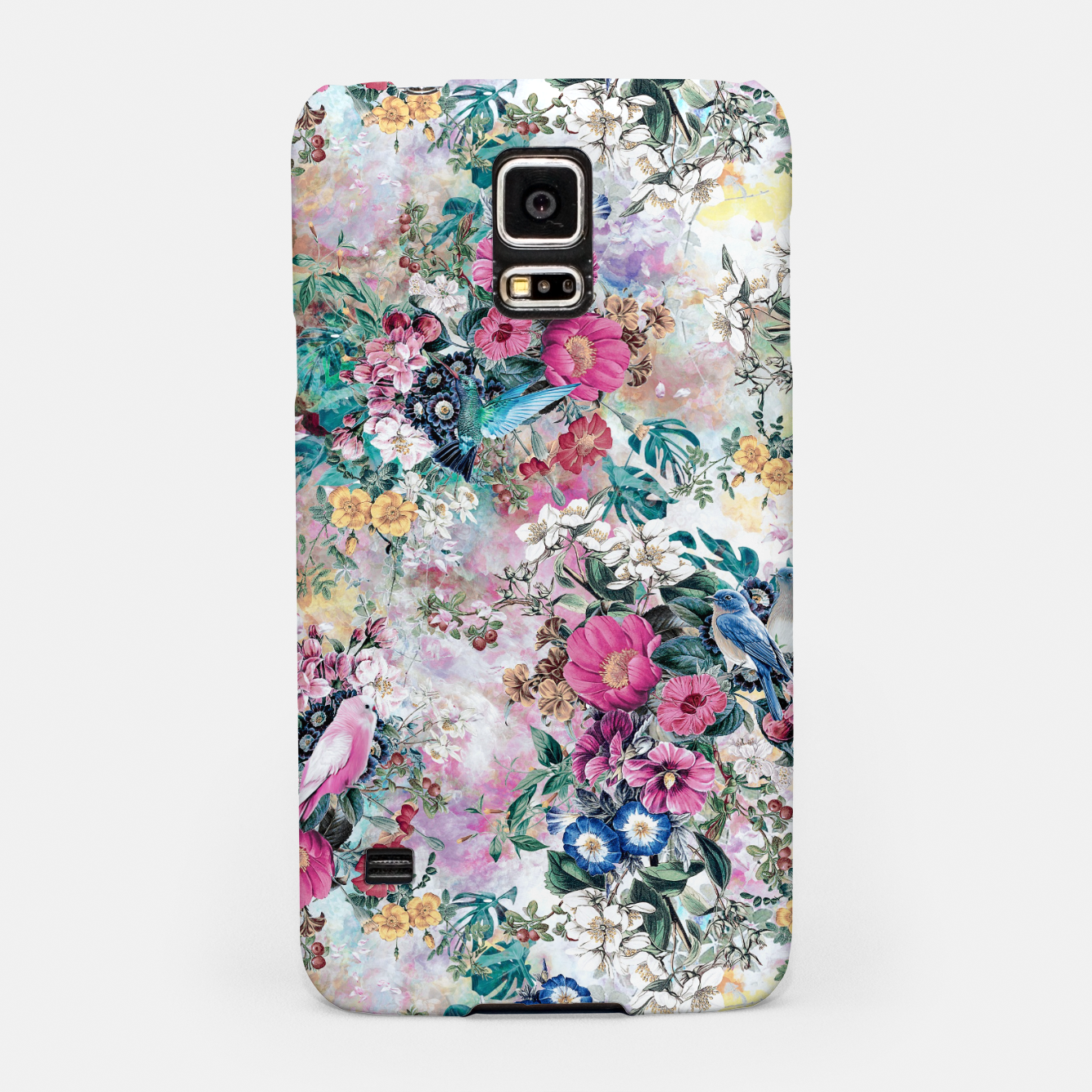 Image of Birds in Flowers Samsung Case - Live Heroes
