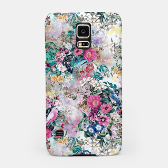 Birds in Flowers Samsung Case Bild der Miniatur