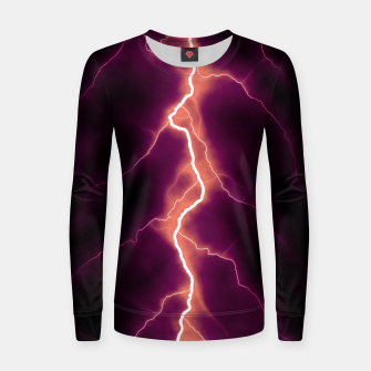 Thumbnail image of Natural Forked Lightning - 01 Women sweater, Live Heroes