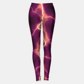 Thumbnail image of Natural Forked Lightning - 01 Leggings, Live Heroes