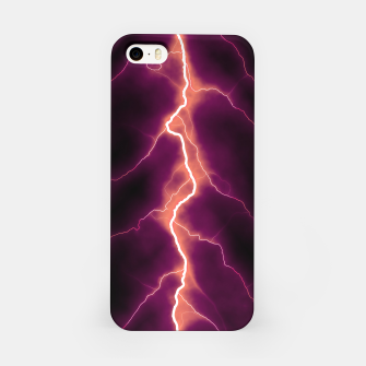 Thumbnail image of Natural Forked Lightning - 01 iPhone Case, Live Heroes
