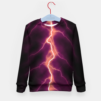 Thumbnail image of Natural Forked Lightning - 01 Kid's sweater, Live Heroes