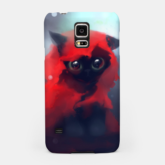 Thumbnail image of Red riding Cat Samsung Case, Live Heroes