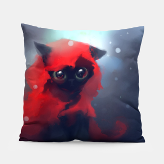Thumbnail image of Red riding Cat Pillow, Live Heroes