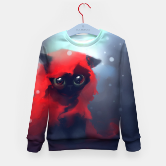 Thumbnail image of Red riding Cat Kid's sweater, Live Heroes