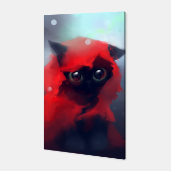 Thumbnail image of Red riding Cat Canvas, Live Heroes