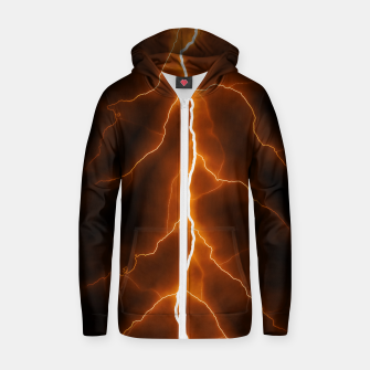 Thumbnail image of Natural Forked Lightning - 02 Zip up hoodie, Live Heroes