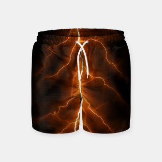 Thumbnail image of Natural Forked Lightning - 02 Swim Shorts, Live Heroes